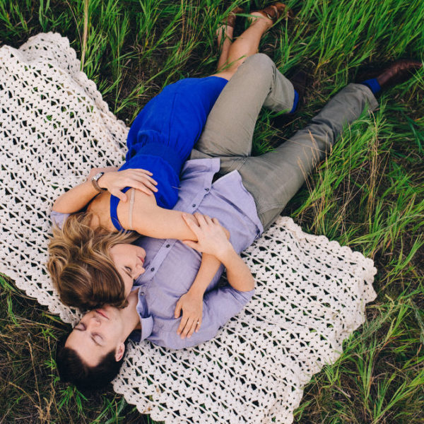 Birds Hill Park Engagement Session | Kelcey and Josh