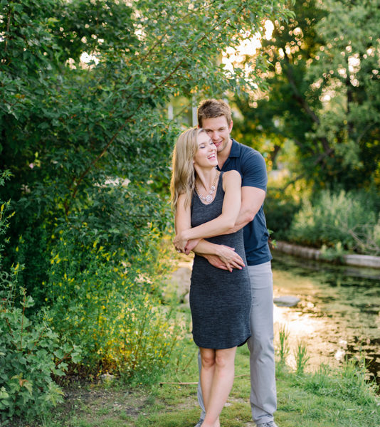 Alexis and Erik, Engagement session in Assiniboine Park in Winnipeg, Manitoba